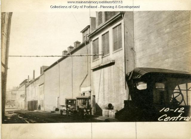 Boiler House, Central Wharf, Portland, 1924