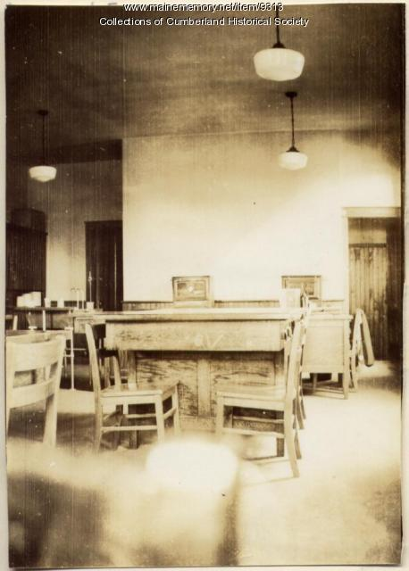 Home Economics Lab in Greely Institute, 1935