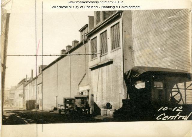10A Central Wharf, Portland, 1924