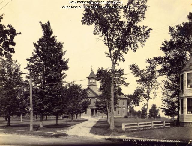 Greely Institute, Cumberland, 1921