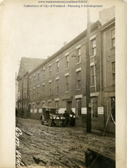 6-8 Commercial Wharf, Portland, 1924