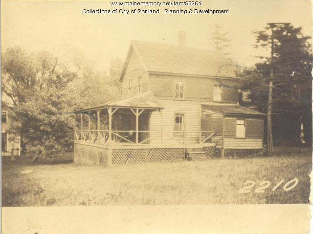 Pearson property, North Side, Long Island, Portland, 1924