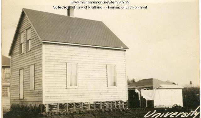 15 University Street, Portland, 1924
