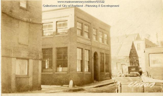 10-14 Union Street, Portland, 1924