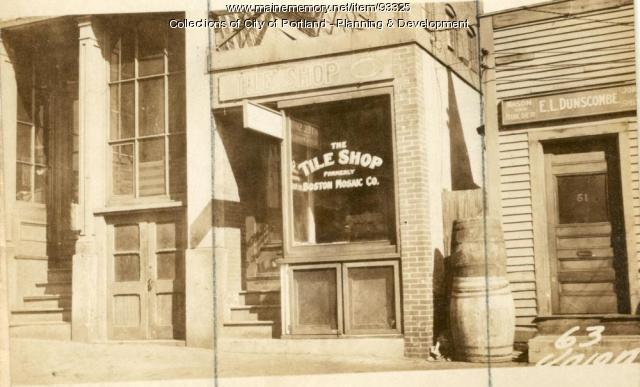 63 Union Street, Portland, 1924