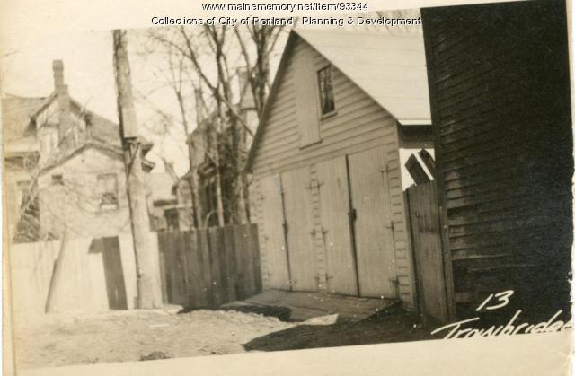 17-19 Trowbridge Place, Portland, 1924