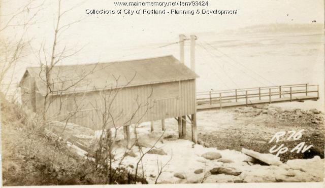 76 Upland Avenue (rear), Portland, 1924