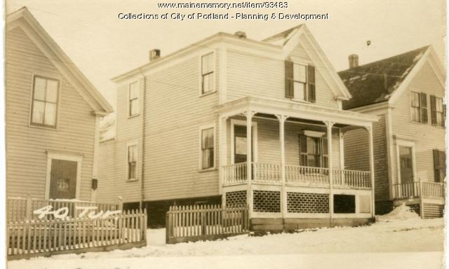 40 Turner Street, Portland, 1924