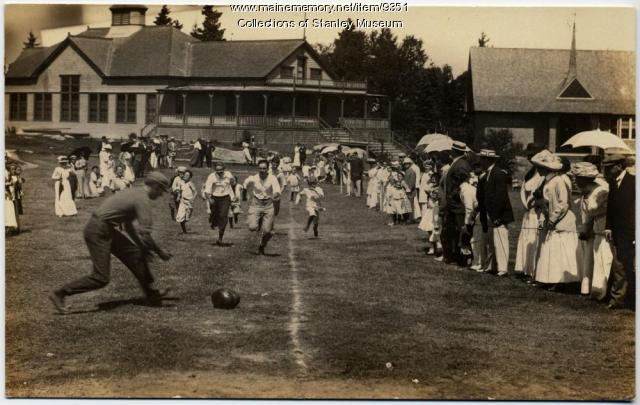 Watermelon Race, Squirrel Island Fete Week, 1910
