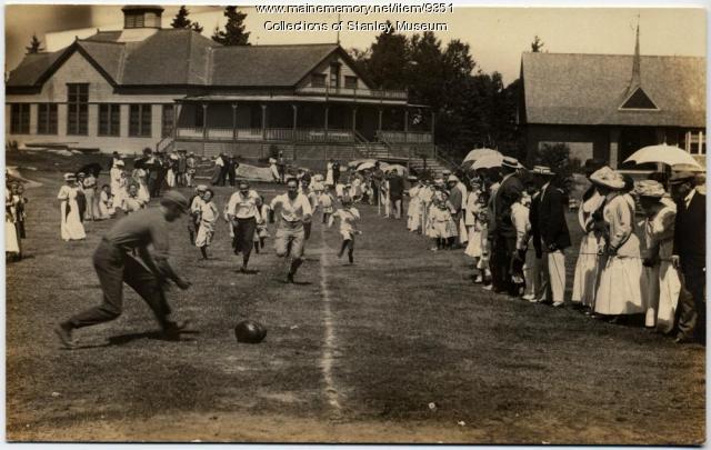 Watermelon Race, Squirrel Island Fete Week, 1910