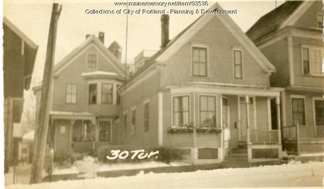 26 Turner Street, Portland, 1924