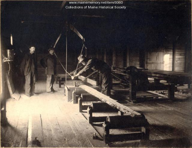 J.G. Deering & Son Lumber Co., Biddeford, ca. 1880