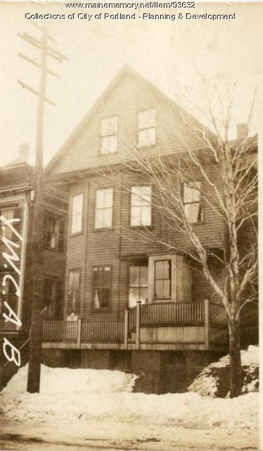 247 Valley Street, Portland, 1924