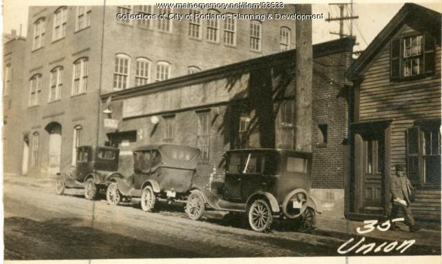 29-33 Union Street, Portland, 1924