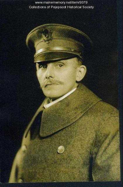Frank Whittier, Brunswick, ca. 1917