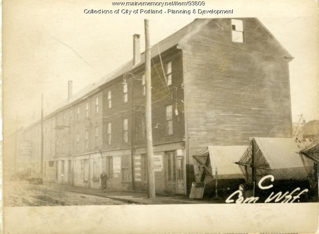 10-12 Commercial Wharf, Portland, 1924