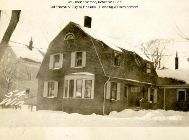 54-58 Winslow Street, Portland, 1924