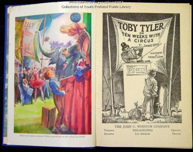 Illustrations from 'Toby Tyler, or ten weeks with a circus'