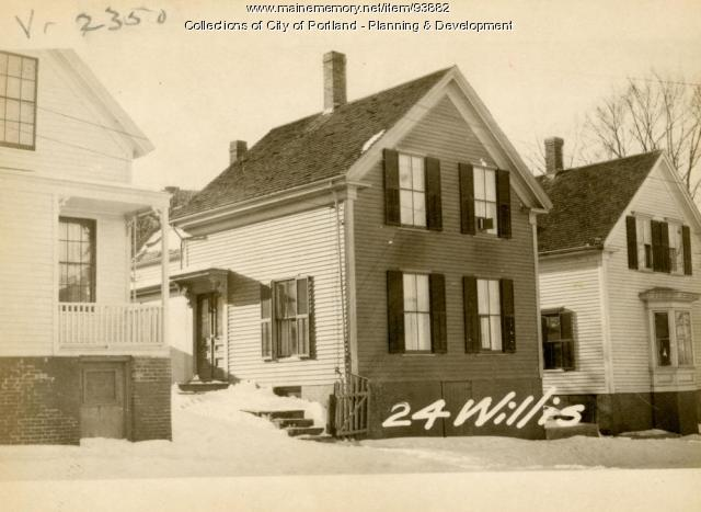 24-26 Willis Street, Portland, 1924