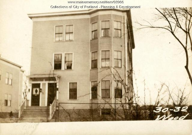 30-32 Wood Street, Portland, 1924