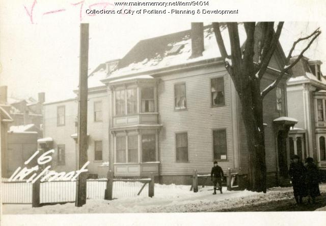 14-16 Wilmot Street, Portland, 1924