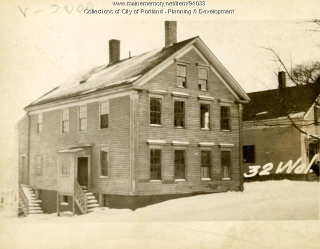 25-27 Willis Street, Portland, 1924