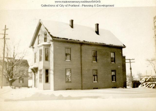 45-51 Winslow Street, Portland, 1924