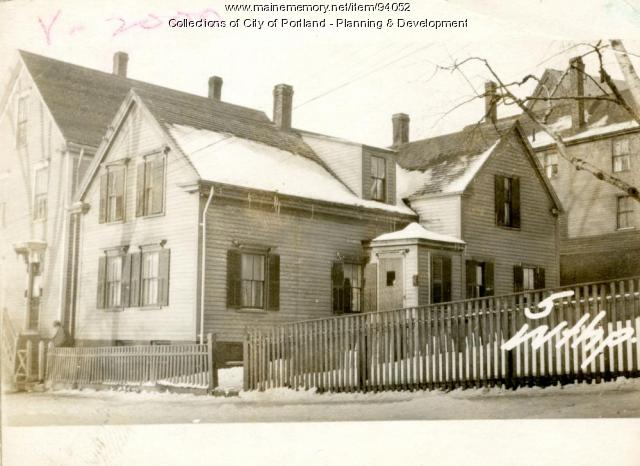 3 Winthrop Street, Portland, 1924