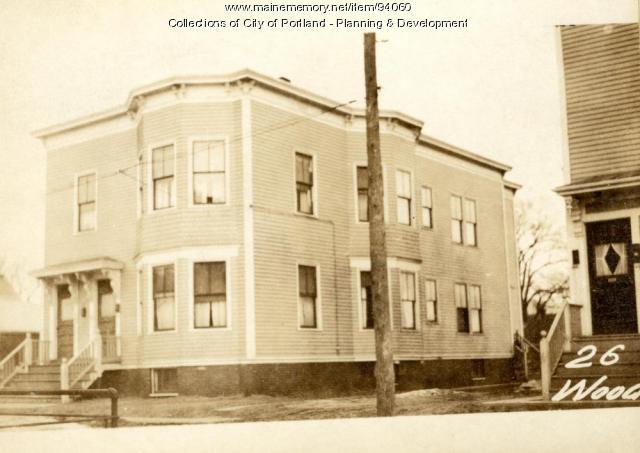 26-28 Wood Street, Portland, 1924