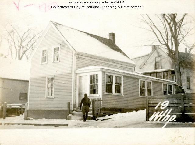 19 Winthrop, Portland, 1924