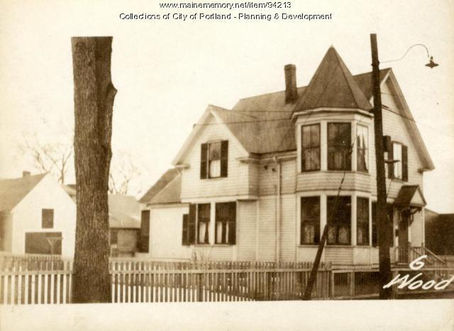 10-12 Wood Street, Portland, 1924