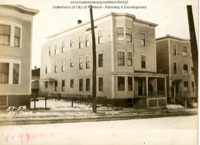 57-59 Wilson, Portland, 1924