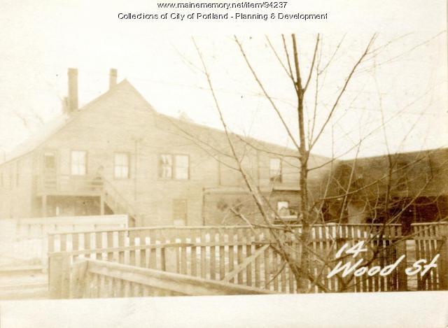 14-20 Wood Street, Portland, 1924