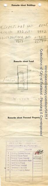 81-83 Winter Street, Portland, 1924