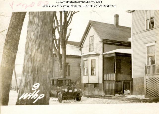 9 Winthrop Street, Portland, 1924