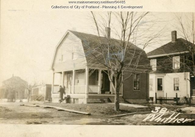 38 Whittier Street, Portland, 1924