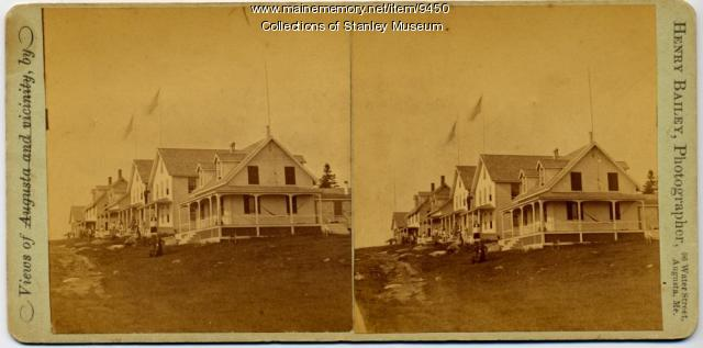 Chase's Row, Squirrel Island, 1880s