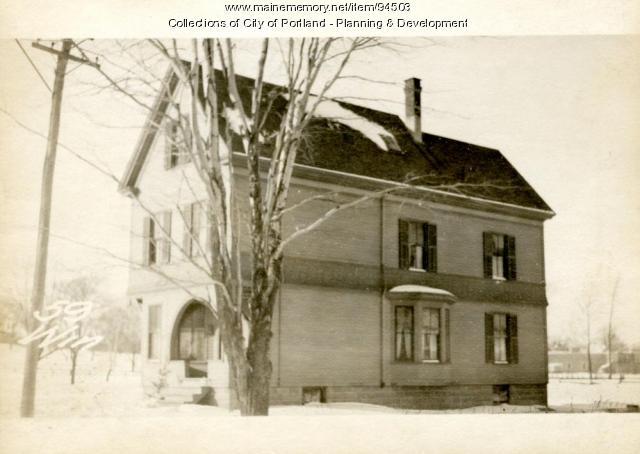 61-63 Winslow Street, Portland, 1924
