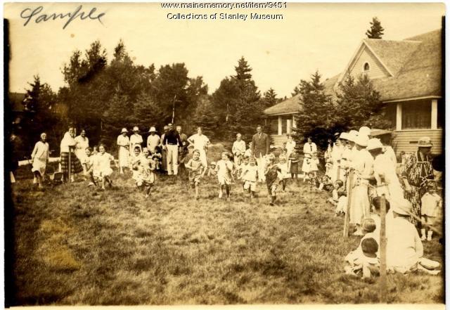 Childrens' Race, Squirrel Island, ca. 1915