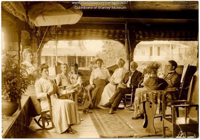 Dingley Family, Squirel Island, ca. 1912l