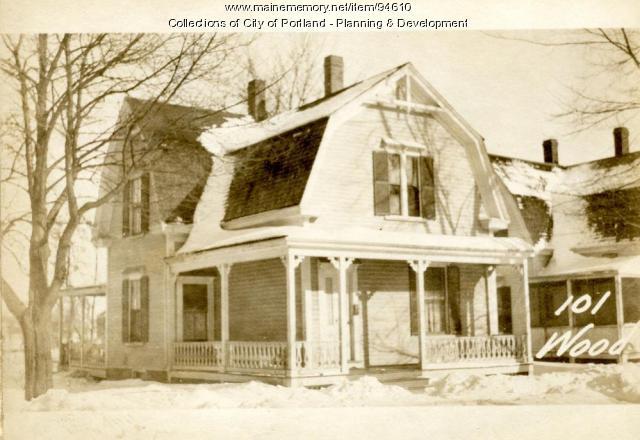 101-103 Woodford Street, Portland, 1924