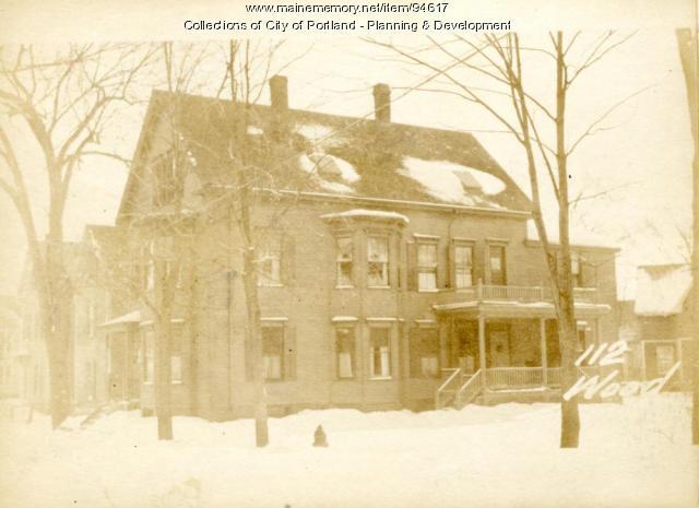 112-118 Woodford Street, Portland, 1924