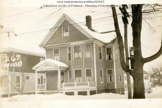 265-269 Woodford Street, Portland, 1924