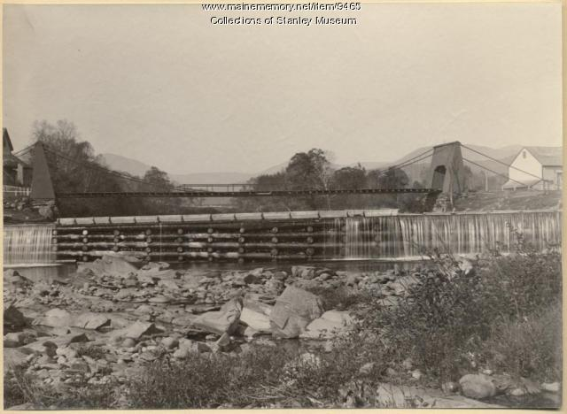 Chain Bridge, Kingfield, ca. 1895