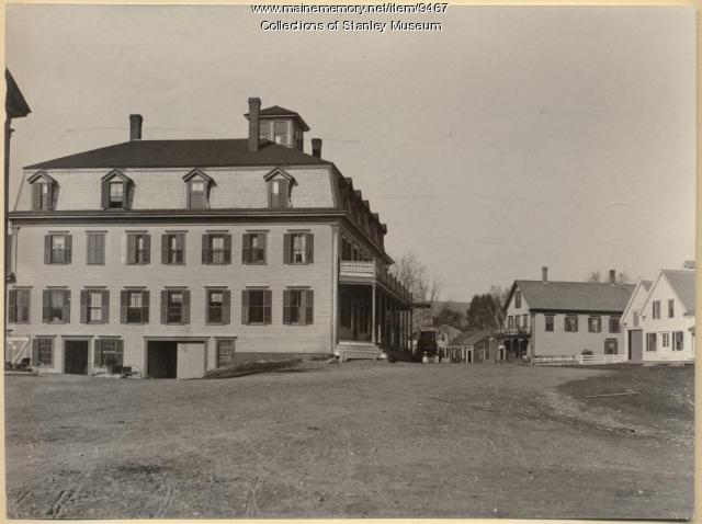 The Kingfield House, ca. 1895
