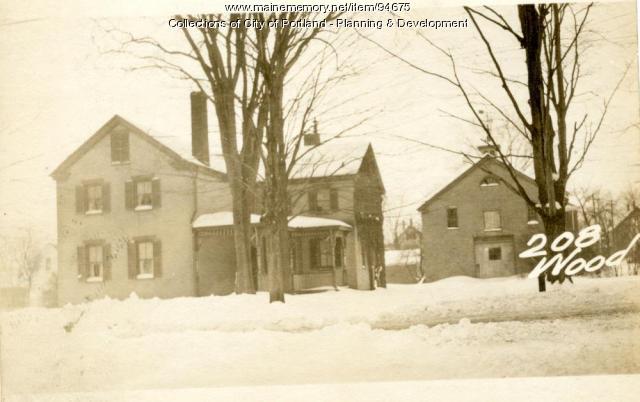 194-218 Woodford Street, Portland, 1924