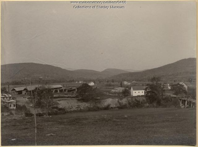 View of West Kingfield, ca. 1895