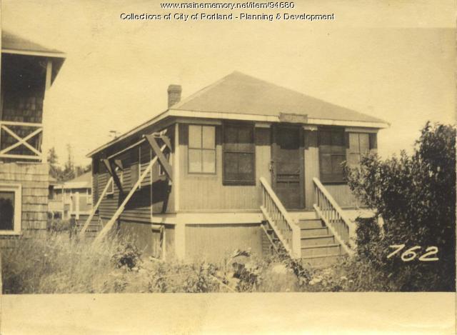 Ward property, S. Side Edward Street, Peaks Island, Portland, 1924