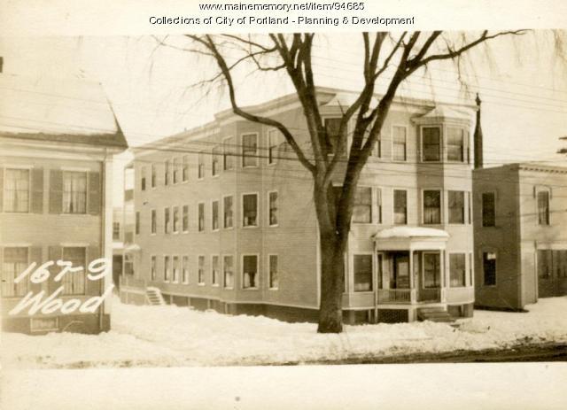 167-169 Woodford Street, Portland, 1924