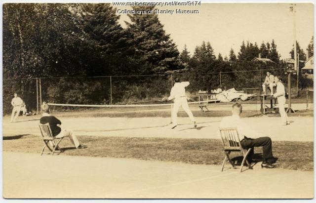 Tennis Match, Squirrel Island, ca. 1920s